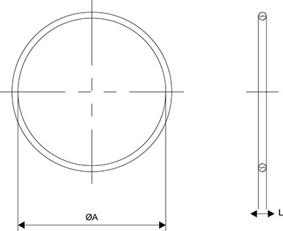 'O' Ring for Cable Gland Diagram