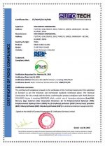 erotech certification rohs